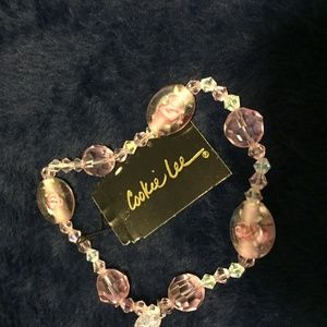 Pink Vintage Candy Bracelet (Large)